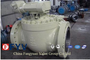 ANSI Butt-Weled Top Entry Ball Valve with Turbine pictures & photos