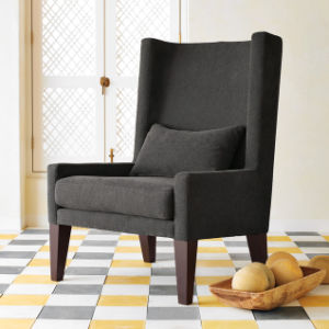 Wing Occasional Accent Chair Club Chair with a Pillow (WGK8013)
