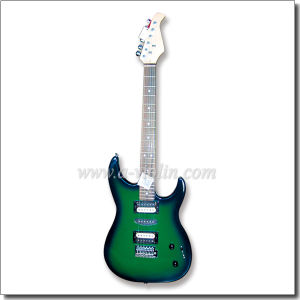 St Style Solid Wood Top Electric Guitar (EGS212R) pictures & photos
