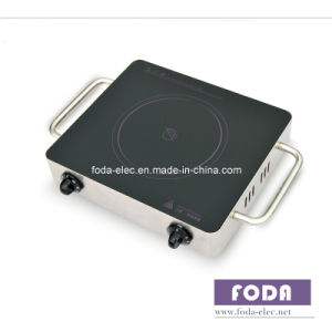 Portable Metal Shell Table-Top Knob-Type Single-Coil Infrared Cooker/Hilight/Hi-Light Not Induction Stove (MJ-05SA)