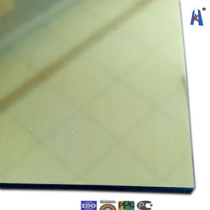 Gold Mirror Decorative Aluminium Plate pictures & photos