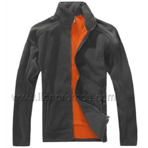 Corporate Logo Embroidery Winter Gift Warm Polar Fleece Jacket pictures & photos