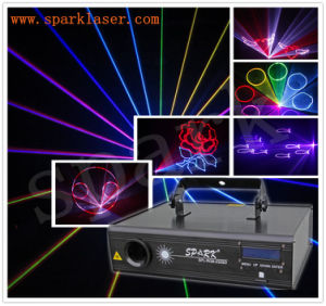 SD Card 1W RGB Animation Laser Stage Light