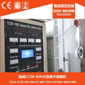 Cczk Jewelry Physical Vapor Deposition (PVD) 18k, 24k Real Gold, Rose Gold Coating Machine, System, Equipment pictures & photos
