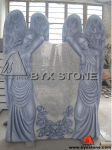 American Angel Carved Monument / Headstone with Antique Finished pictures & photos