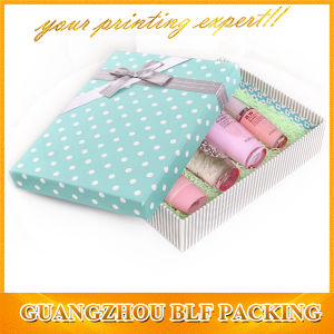 Paper Cosmetic Gift Packaging A4 Size Paper Box pictures & photos