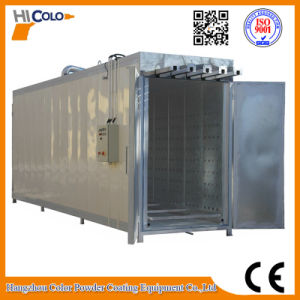 Gas Fired Industria Powder Curing Oven with 4 Track pictures & photos