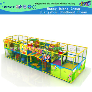 Indoor Naughty Castle with Plastic Slide Indoor Playground (MH-05608) pictures & photos