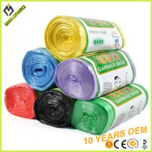 China Supply in Roll Colored Scent HDPE Trash Bag