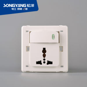 a Series Multi Socket (white) pictures & photos