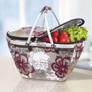 Promotional Gifts Cooler Basket for Food Dxs-040 pictures & photos
