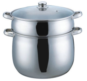 30cm Stainless Steel Couscous Pot (CP004) pictures & photos