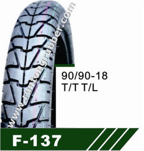 Goldkylin Top Quality Factory Directly Motorcycle Tires/Tyre (90/90-18) pictures & photos