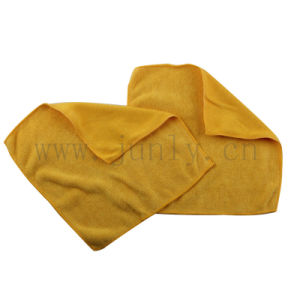 Friction Yellow Sponge Microfiber Cleaning Cloth (JL-160)