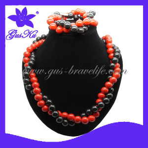 Classic African Beads Jewelry Set (2015 Gus-Tmn-038) pictures & photos