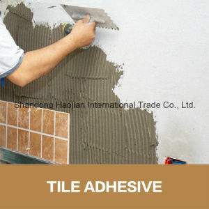 Strong Floor Adhesive for Fixing Ceramic Tile Glue Additive Starch Ethers HPS pictures & photos