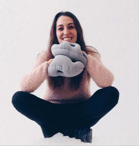 Custom Gloves Shape Ostrich Pillow pictures & photos