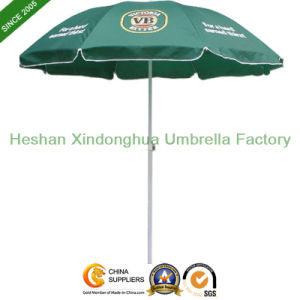 52inch Promotional Beach Umbrella with Windproof Ribs (BU-0052W) pictures & photos