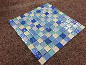 Chinese Supplier Green Tile Glass Mosaic, Fashion Swimming Pool Tile for Sale pictures & photos