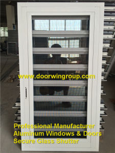 Fixed Aluminum Security Glass Shutter Window, Ventilate Window with Security Performance for Your Residential House pictures & photos
