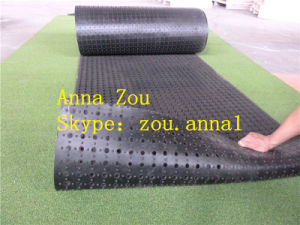 Coiled Anti Slip Rubber Mat/Drainage Rubber Mat pictures & photos