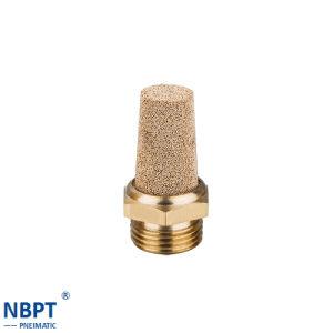 Pneumatic Fittings Muffler Brass and Plastic Plug/ Bsl01-02