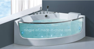 Luxury Glass Acrylic Massage Bathtub Nj-3002 pictures & photos