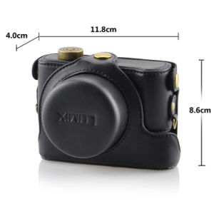 PU Camera Bag Laptop Bag to Protect Cameras (LX7) pictures & photos