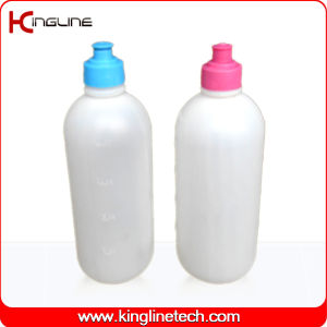 Plastic Sport Water Bottle, Plastic Ssport Water Bottle, 1000ml Plastic Drink Bottle (KL-6105) pictures & photos