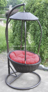 Outdoor Garden Wicker Swing Chair