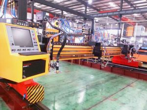 2X6m Multiple Torches CNC Oxy Fuel Gas Flame Cutting Machine pictures & photos