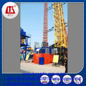 Hongda Building Hoist with 1 and 2 Ton Load pictures & photos