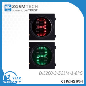 200mm LED Traffic Light by Arrow & Countdown Timer