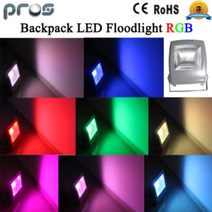 10W RGB LED Floodlight, Colorful Exterior LED Flood Light pictures & photos