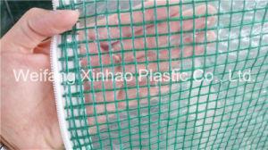 PE Scaffolding Leno Tarpaulin, Coated Mesh Fabric pictures & photos