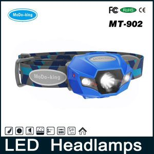 Night Walking LED Headlights Head Torch Rechargeable Battery