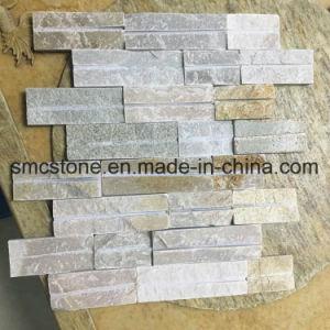 Slim Slate Mosaic Hhsc10X40-008 pictures & photos