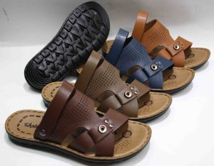 Hot Sale Classic Men Beach Sandal with PU Outsole (SNB-12-012) pictures & photos