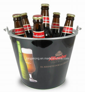 New Ice Beer Tin Bucket, Galvanized Ice Bucket, Metal Ice Bucket pictures & photos