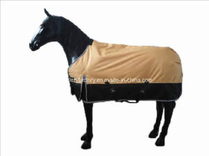 Waterproof and Breathable 600d Turnout Blanket (SMR2707) pictures & photos
