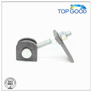Steel with Plate Long Thread Fence Door Hinge (90100.1) pictures & photos