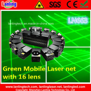 Green Mobile Fat-Beam Laser Net/Curtain for Stage Lighting pictures & photos