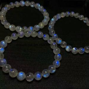 Semi Precious Stone Labradorite Moon Stone Bracelet pictures & photos