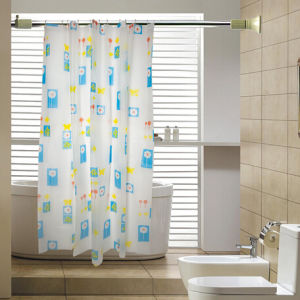 Fashion Pattern Polyester Shower Curtain pictures & photos