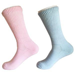 Half Cushion Sorbtek Coolmax Diabetic Health Care Medical Pink Socks (JMDB04) pictures & photos