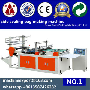 Plastic Side Sealing Bag Making Machine pictures & photos