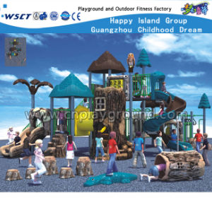 Ancient Tribe Series Children Outdoor Slide Playground for Sale HD-Kq50007A pictures & photos