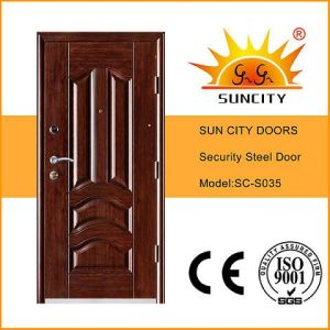 2016 Latest Design Egypt Models Steel Door (SC-S035) pictures & photos