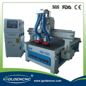 High Efficiency Woodwork CNC Router 1325 4X8feet with 4.5kw Spindle pictures & photos