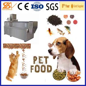 CE Approved Easy Operated Automatic Pet Food Processing Machinery pictures & photos